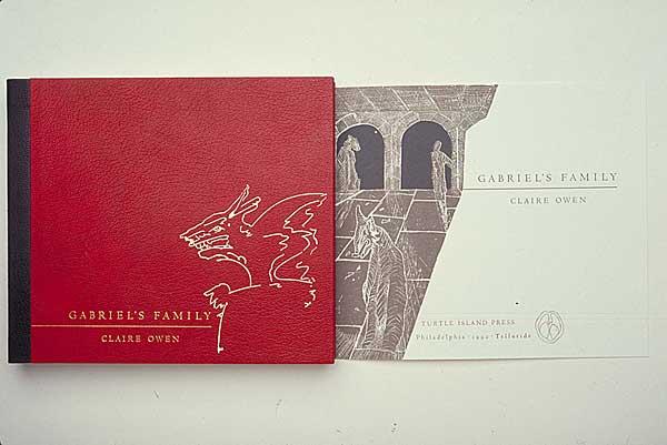 Claire Owen: Books in Print: Gabriel's Family